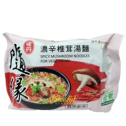 隨緣濃辛椎茸湯麵