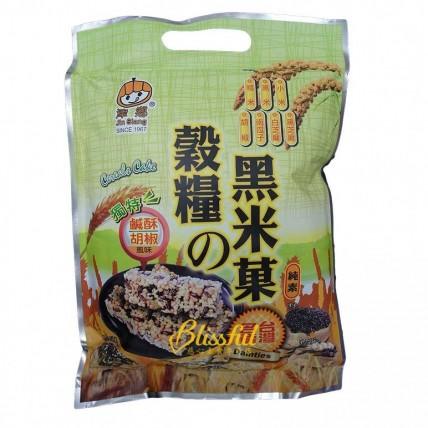 雜糧黑米菓-鹹酥胡椒風味