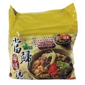 《味王》巧食齋當歸藥膳湯麵(4包)