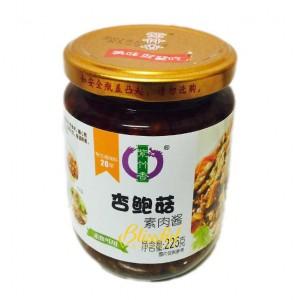 齊善杏鮑菇素肉醬