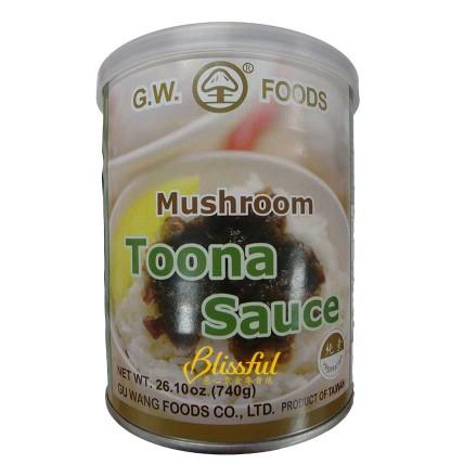 Mushroom Toona Sauce