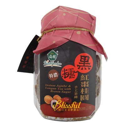 Instant Jujube & Longan Tea with Brown Sugar