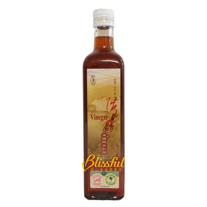 Organic Red Yeast Rice Vinegar