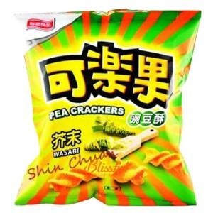 Pea Crackers-wasabi