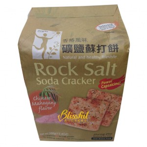 Rock Salt Soda Cracker-Chinese Mahogany flavor