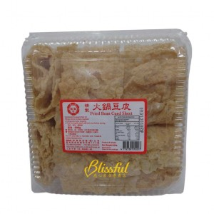 Fried bean curd sheet