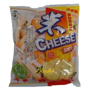 Cheese rice cracker fun pack