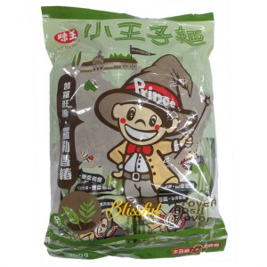 Basil flavor snack