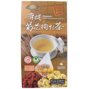 Organic Chrysanthemum Goji Tea
