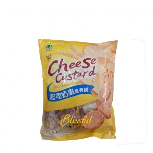 cheese custard malt sugar biscuit