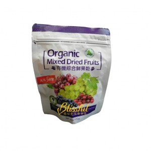 organic mixed dried fruits